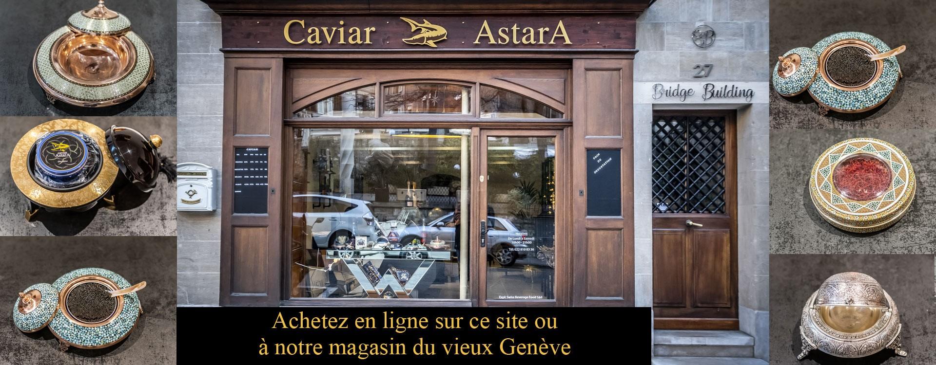 Caviar accessoires