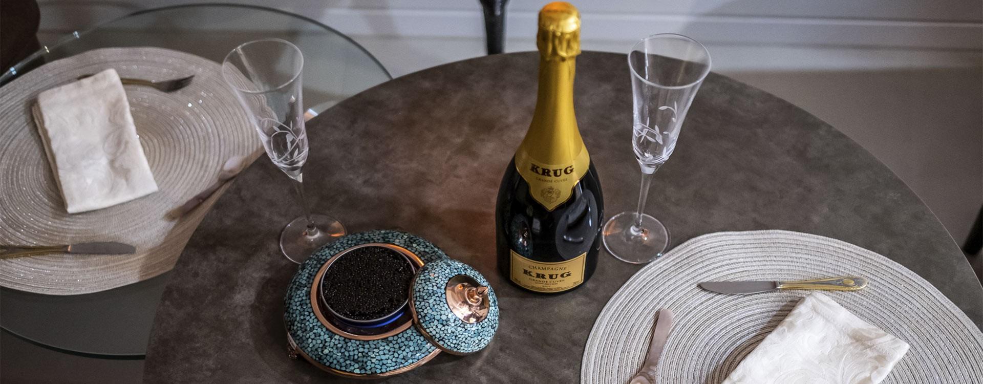Caviar accessories in Switzerland