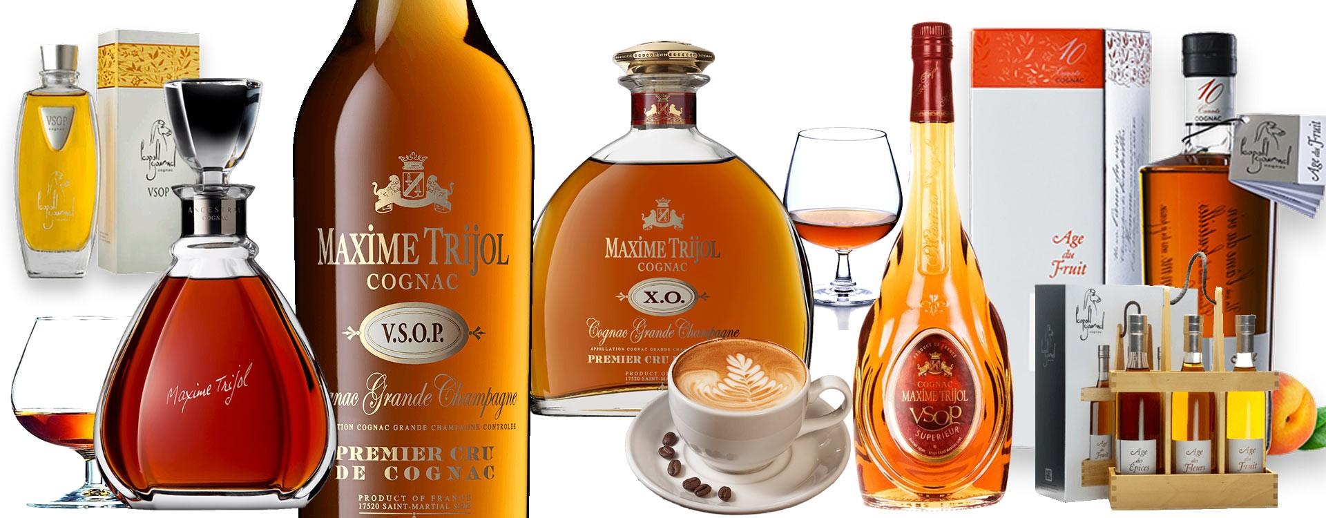 Des Cognacs de haute qualité